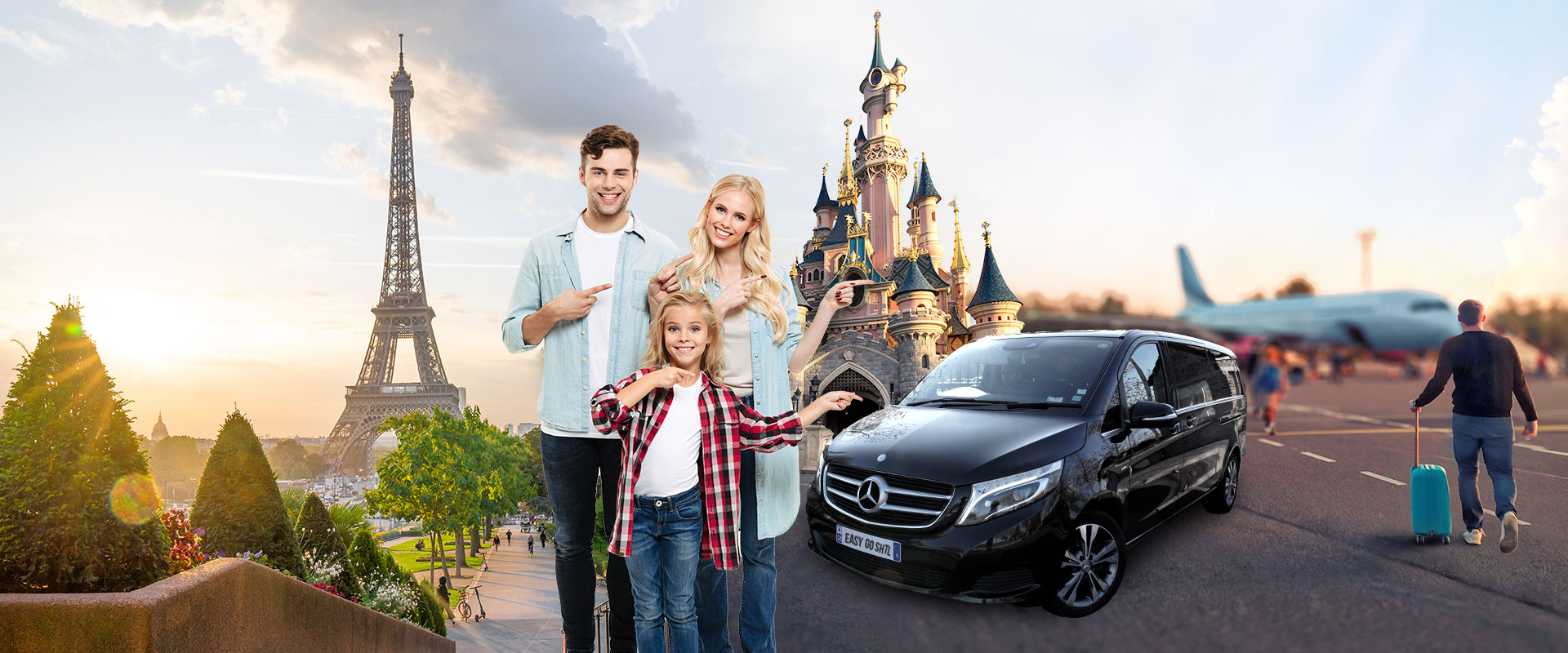 Paris and Disneyland Private Airport Transfers