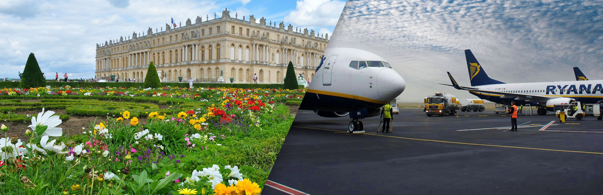 From Chateau De Versailles Airports