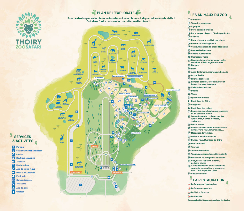 Zoo Safari - Plan